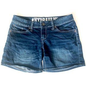HYDRAULIC women's Jean Shorts 7/8